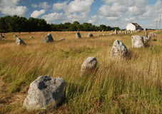 Megalithic monument in Brittany Stock Photos
