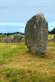 Megalithic monuments in Brittany Royalty Free Stock Image