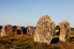Megalithic Monuments in Carnac royalty free stock images