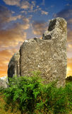 Megalithic monuments menhirs in Carnac Royalty Free Stock Photos