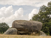 Megalithic rocks in Drenthe Royalty Free Stock Photos