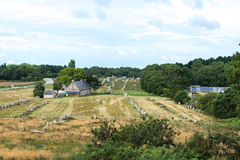 Megalithic site around Carnac (France) Stock Images