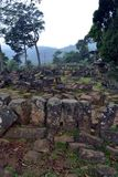 An megalithic site in West Java, Indonesia. It has thousands of. Ancient stones. It`s claimed to be the largest in South East Asia. Pic was taken in Gunung royalty free stock photography