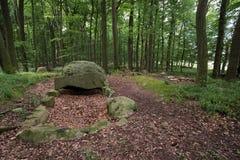 Megalithic Tomb Schmiedkow Royalty Free Stock Photo