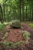 Megalithic Tomb Schmiedkow Stock Photos