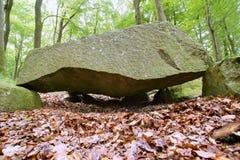 Megalithic Tomb Schmiedkow Royalty Free Stock Photos