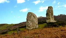 Megaliths Argimusco Stock Images