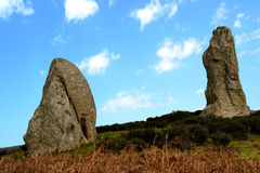 Megaliths Argimusco Stock Photography