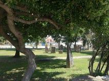Megalitico Garden San Sperate Sardinia Stock Photos