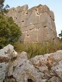 Megalitisk vägg Arkivbilder