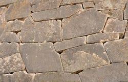 Megalitisk vägg Royaltyfria Bilder