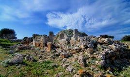 Megality w Menorca Obrazy Stock