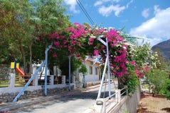 Megalo Chorio, Tilos-Insel lizenzfreies stockbild