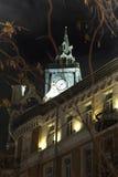 Megalopoli di notte Fotografie Stock Libere da Diritti