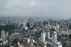 Megalopolis Bangkok Royalty Free Stock Photo