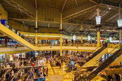 Megamarket Imagens de Stock