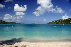Megan jest bay st. Thomas fotografia stock