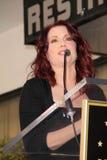 Megan Mullally royaltyfri fotografi