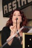 Megan Mullally royaltyfri foto
