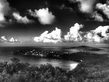 Megan& x27; s zatoki świętego Thomas USA Dziewicze wyspy obraz royalty free