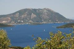 Meganissi island, Greece Stock Photo