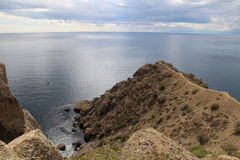 Meganom cape, Crimea Royalty Free Stock Image