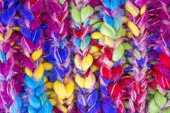 Megapíxeles de alta calidad de la ropa del fondo macro colorido de las fibras 50,6 imágenes de archivo libres de regalías