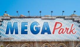 Megapark disko i L ` Arenal Royaltyfri Fotografi