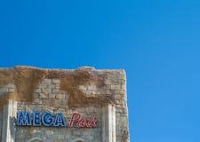 Megapark disko i L ` Arenal Royaltyfria Bilder