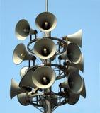 Megaphon-Kontrollturm Stockfotografie