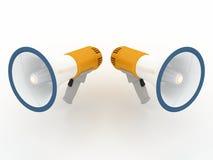 megaphone έννοιας Στοκ φωτογραφίες με δικαίωμα ελεύθερης χρήσης