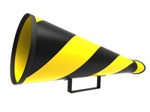 megaphone αναδρομικό Στοκ φωτογραφία με δικαίωμα ελεύθερης χρήσης