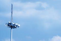 Megaphone. Isolated on blue sky Royalty Free Stock Photos