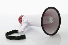 Megaphone. A megaphone on white background Royalty Free Stock Image