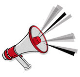 Megaphone vector Stock Photography