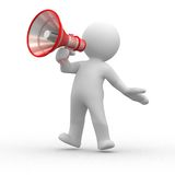 Megaphone Royalty Free Stock Photo