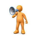 Megaphone Royalty Free Stock Image