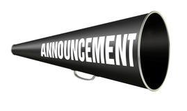 Free Megaphone Announcement Stock Image - 2000861