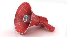 Megaphone or bullhorn Royalty Free Stock Images