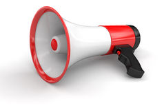 Megaphone (clipping path included) Royalty Free Stock Photography