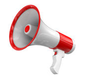 Megaphone (clipping path included) Royalty Free Stock Image