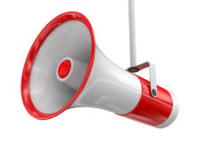 Megaphone (clipping path included) Stock Images