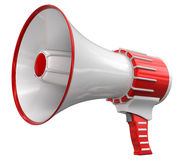 Megaphone (clipping path included) Stock Photos