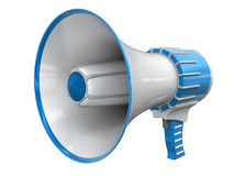 Megaphone (clipping path included) Royalty Free Stock Photo