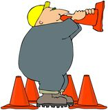 Megaphone Cone Royalty Free Stock Photo