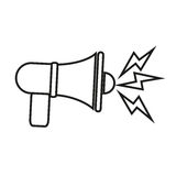 megaphone design Stock Photo