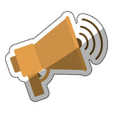 megaphone design Stock Photography