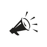 Megaphone icon Stock Images