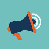 Megaphone icon Royalty Free Stock Photography