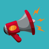 Megaphone icon Royalty Free Stock Image